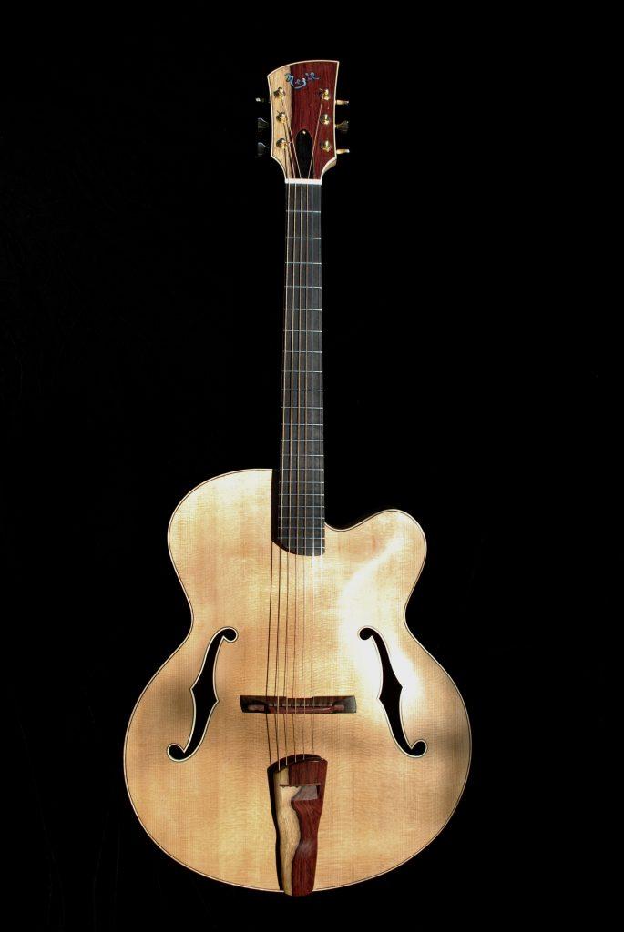 jazz guitar, arch top, Canadian guitar, Nezil archtop, Andy Nezil